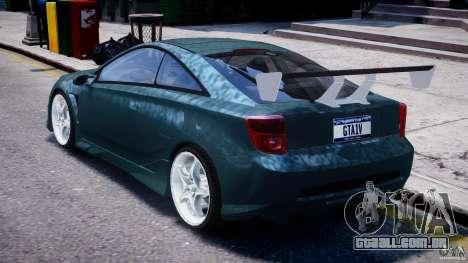 Toyota Celica Tuned 2001 v1.0 para GTA 4 vista direita