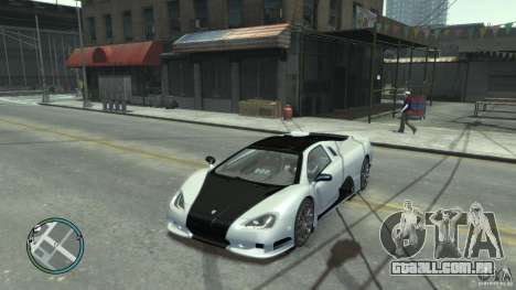 Shelby Super Cars Ultimate Aero para GTA 4