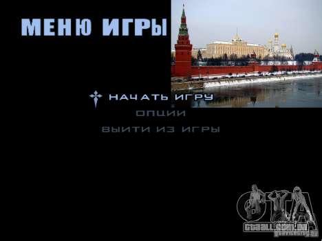 Tela de boot Moscou para GTA San Andreas twelth tela