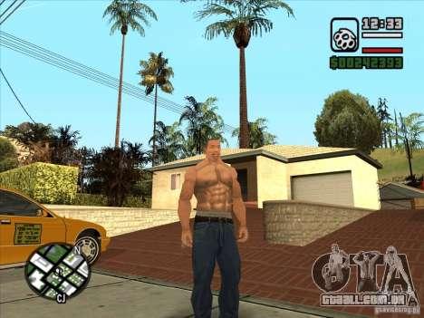 Cj branco para GTA San Andreas terceira tela