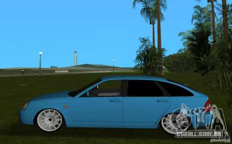 Lada Priora Hatchback v 2.0 para GTA Vice City deixou vista