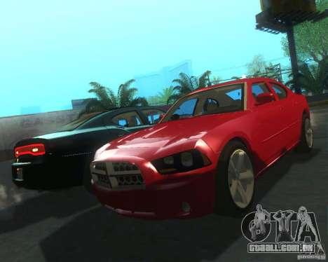 Dodge Charger 2011 para GTA San Andreas esquerda vista