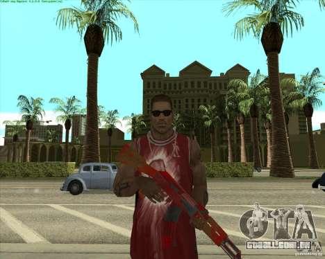Blood Weapons Pack para GTA San Andreas oitavo tela