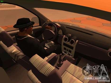 Nissan NP200 para GTA San Andreas vista superior