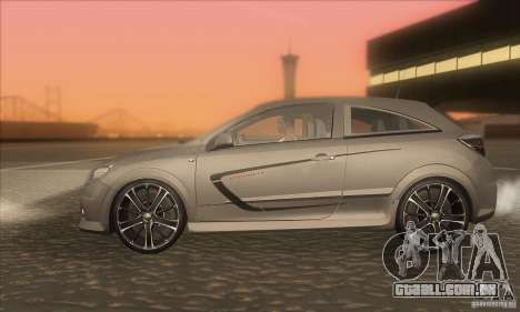 Opel Astra GTC DIM v1.0 para GTA San Andreas esquerda vista
