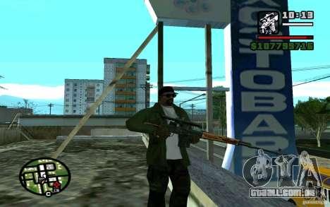 Dragunov sniper rifle v 1.0 para GTA San Andreas segunda tela
