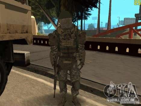 Combate de soldados de CoD: Mw2 para GTA San Andreas sexta tela
