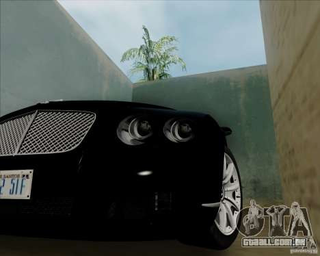 Bentley Continental GT V1.0 para GTA San Andreas vista direita