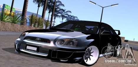 Subaru Impresa WRX light tuning para GTA San Andreas