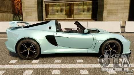 Lotus Exige S 2012 para GTA 4 esquerda vista