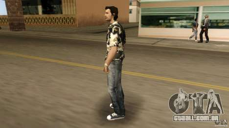Desgaste Vercetti Gang para GTA Vice City segunda tela