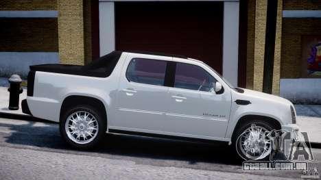 Cadillac Escalade Ext para GTA 4 esquerda vista