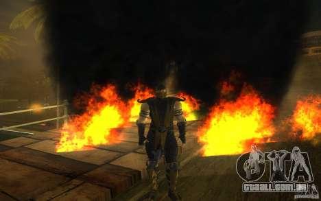 Scorpion v2.2 MK 9 para GTA San Andreas quinto tela