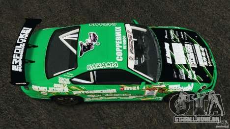 Nissan Silvia KeiOffice para GTA 4 vista direita