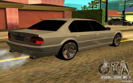 BMW 750iL E38 para GTA San Andreas vista superior