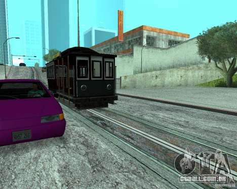 Novas máquinas de cores para GTA San Andreas terceira tela