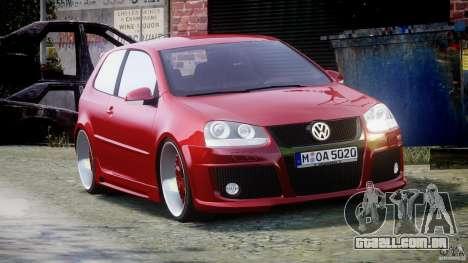 Volkswagen Golf GTI 2006 v1.0 para GTA 4 vista direita