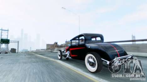 Smith 34 Hot Rod para GTA 4 esquerda vista