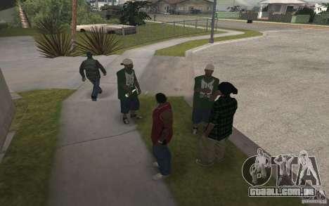 Grove Street Skin Pack para GTA San Andreas sexta tela