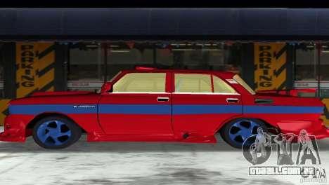 AZLK 2140 para GTA Vice City vista interior