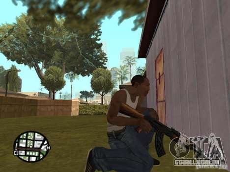 Nova marca de AK-47 para GTA San Andreas