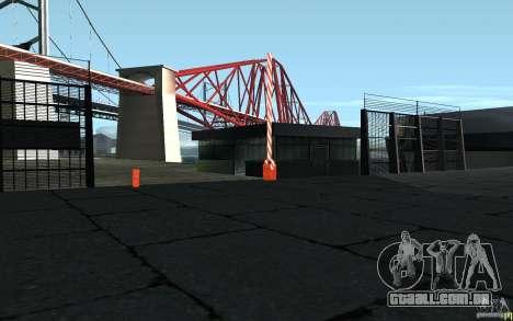 Ponto de verificação caixa de HD para GTA San Andreas terceira tela