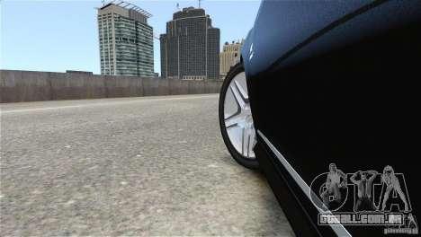 Mercedes-Benz CL65 AMG v1.5 para GTA 4 vista interior