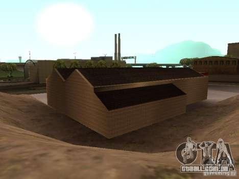 A garagem da Ferrari em Dorothy para GTA San Andreas sexta tela