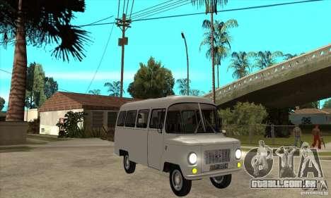 FSD Nysa 522 para GTA San Andreas vista interior
