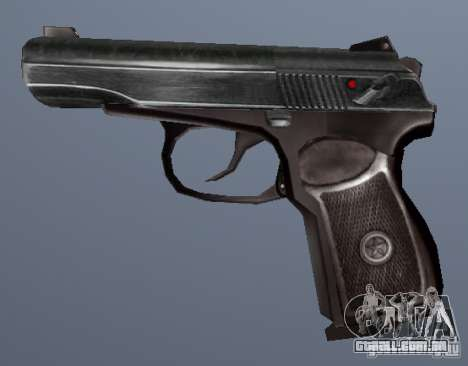 Pistola Makarov para GTA San Andreas segunda tela