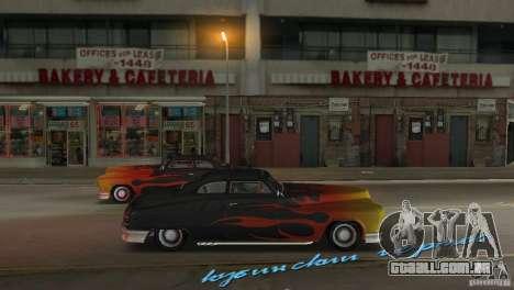 Cuban Hermes HD para GTA Vice City vista direita