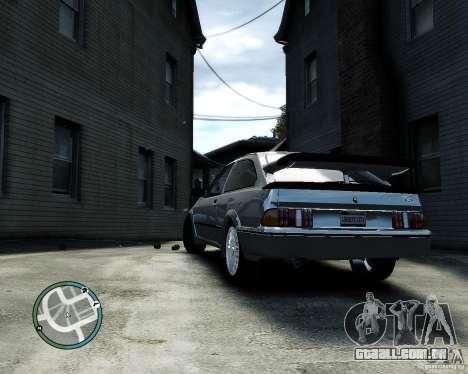 Ford Sierra RS500 Cosworth v1.0 para GTA 4 vista direita