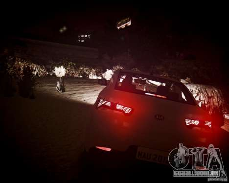Kia Cerato Koup 2011 para GTA 4 vista interior