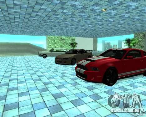 HD Motor Show para GTA San Andreas nono tela