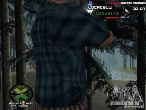 New HUD  v.2 para GTA San Andreas terceira tela
