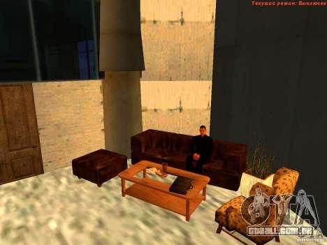 20th floor Mod V2 (Real Office) para GTA San Andreas nono tela