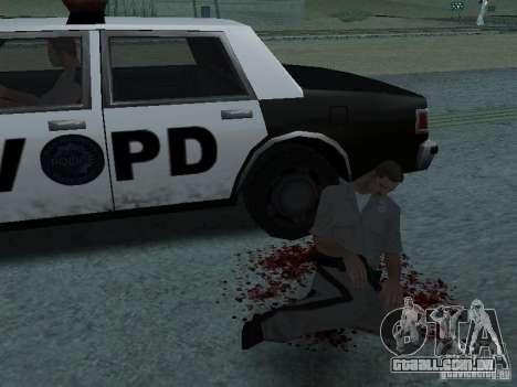 Ferido por um tiro para GTA San Andreas