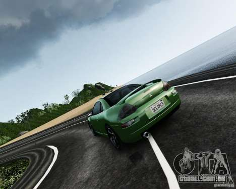 Mitsubishi Eclipse GT-S para GTA 4 esquerda vista