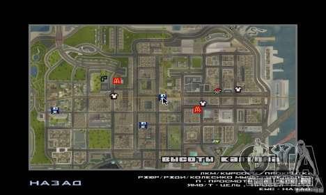 Novas texturas interiores para casas seguras para GTA San Andreas sexta tela