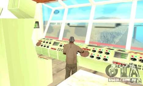 Vice City Ferryboat para GTA San Andreas vista direita