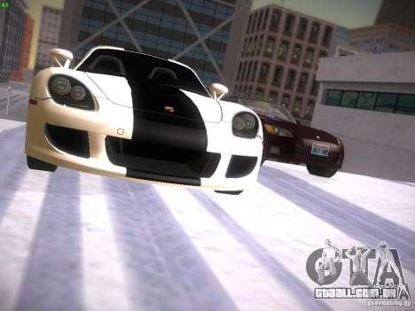 Porsche Carrera GT para vista lateral GTA San Andreas
