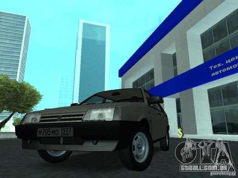 VAZ 2109 CR v. 2 para GTA San Andreas vista direita