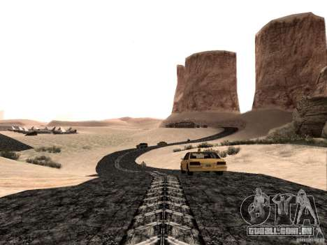 New roads in Las Venturas para GTA San Andreas segunda tela