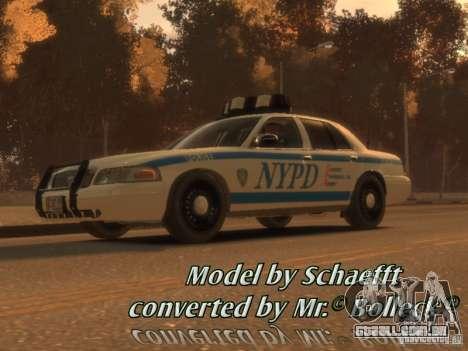 Ford Crown Victoria Police para GTA 4
