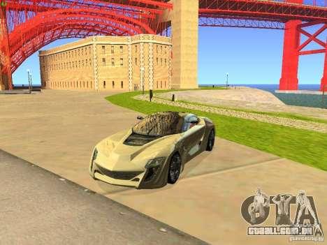 Bertone Mantide para GTA San Andreas
