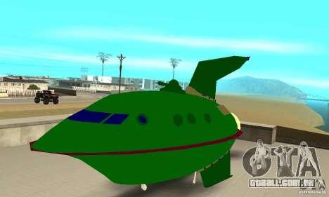 Planet Express para GTA San Andreas