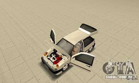 Fiat Tipo 2.0 16V 1995 para GTA San Andreas vista traseira