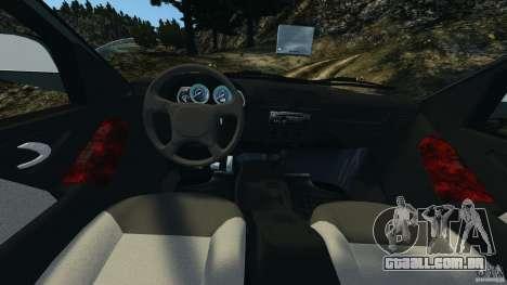 Chevrolet S-10 Colinas Cabine Dupla para GTA 4 vista de volta