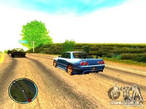 Nissan Skyline B324R para GTA San Andreas vista direita