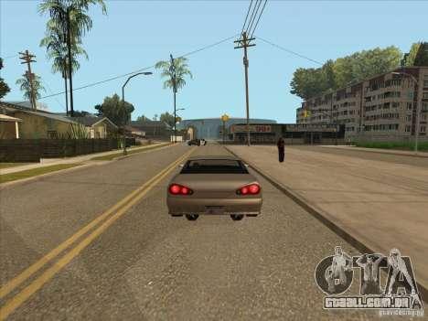 Carro graduado de travagem para GTA San Andreas terceira tela
